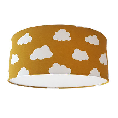 Plafond lamp wolken oker