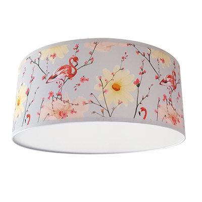 Plafondlamp Flamingo & Lentebloesem