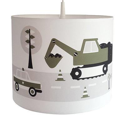 lamp voertuigen olijfgroen