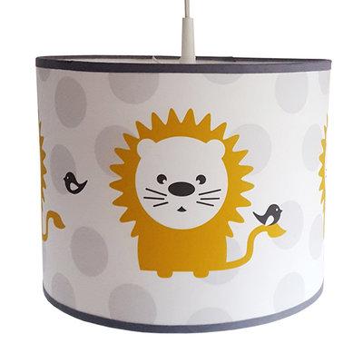 Lamp leeuw oker/stip
